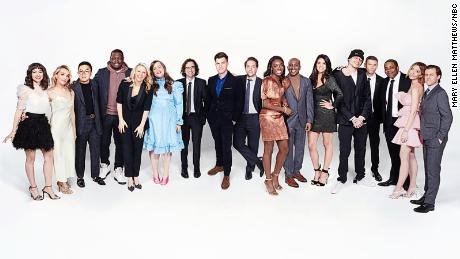 "The cast of ""Saturday Night Live"" are back at it this weekend in front of a live studio audience in New York City."
