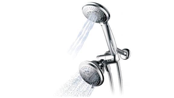 Hydroluxe 1433 Handheld Shower Head & Rain Shower Combo