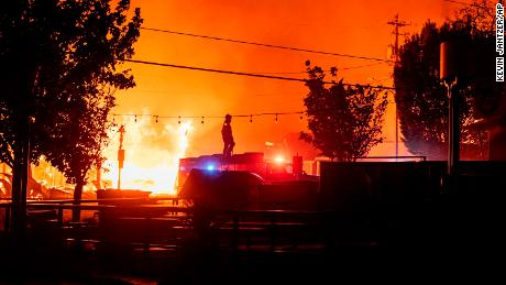 QAnon fans spread fake claims about real fires in Oregon