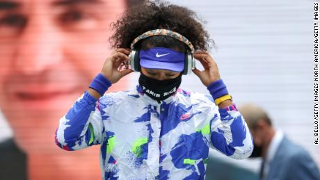 These were Naomi Osaka, the black victim honored at the face mask at the US Open