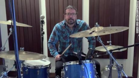 Dave Grohl wrote a song for a 10-year-old drumming phenom after she challenged him to a musical duel