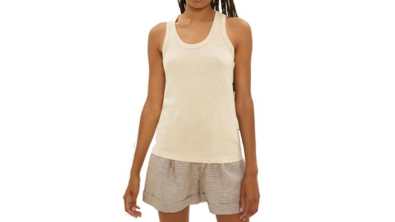 The Hemp Tank Top in Beige