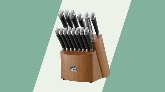 Chicago Cutlery Fusion 17-Piece Knife Block Set