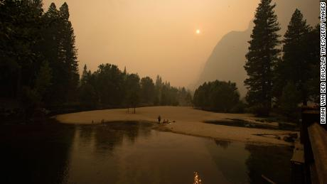 Yosemite National Park closes due to hazardous air quality from the wildfires