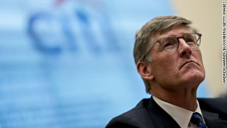 Michael Corbat, chief executive officer of Citigroup Inc., listens during a House Financial Services Committee hearing in Washington, D.C. on April 10, 2019.