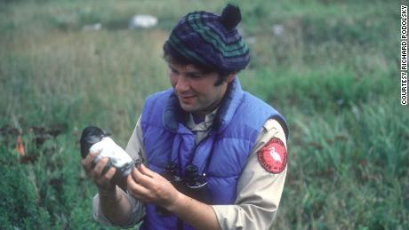 Stephen Kress started hand rearing pufflings in Maine in 1973.