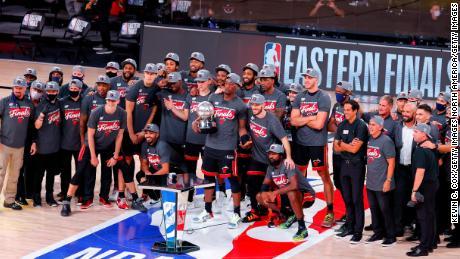 มีเพียงไม่กี่คนที่คาดหวังว่าทีม Miami Heat นี้จะผ่านเข้าสู่รอบชิงชนะเลิศ NBA