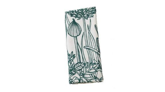 Organic Cotton Herb Tea Towel