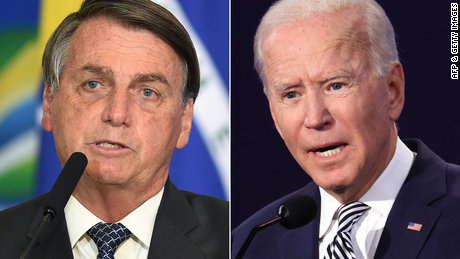 Bolsonaro asks for Biden's 'personal engagement' to fight Amazon deforestation