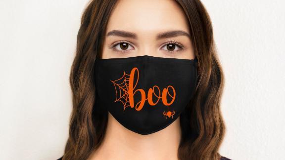 HTownApparel Boo Halloween Face Mask