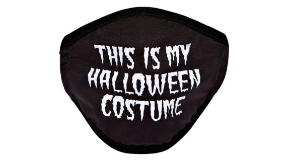 This Is My Halloween Costume Mask