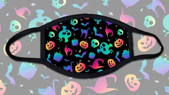 YouthFanaticsGear Happy Halloween Face Mask