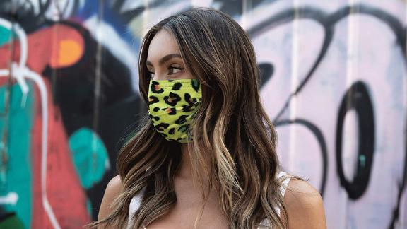 Medipop Protective Face Masks, Leopard, 5-Pack