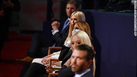 Trump's eldest children split on his path forward