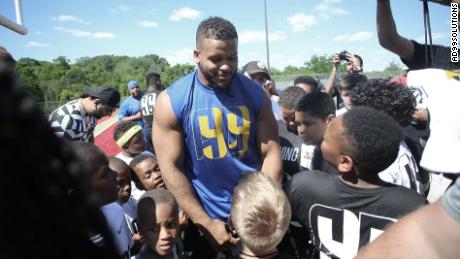 Aaron Donald founded the AD99 Solutions Foundation to change the life trajectory of Pittsburgh's most vulnerable kids.