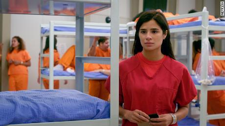 """In the final season of """"Orange is the New Black,"""" Maritza Ramos (played by Diane Guerrero) ends up in immigrant detention."""