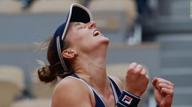 Qualifier makes history at the French Open after stunning upset win