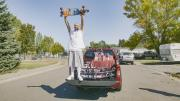 TT :  Ocean Spray surprend la star de Tik Tok avec un nouveau camion après son Fleetwood , influenceur