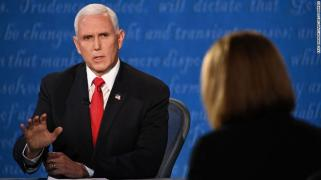 What Matters: Mike Pence evaded a question about peaceful transfer of power - CNNPolitics