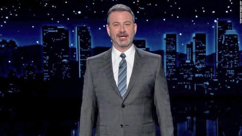 Jimmy Kimmel encourages viewers to 'vote with your heart'