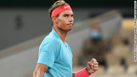 Nadal was dominant throughout the final at Roland Garros.