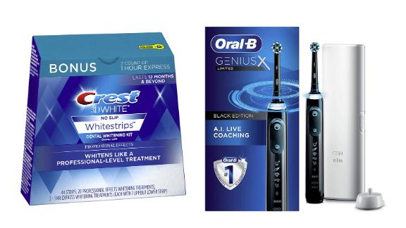 Crest and Oral-B Toothbrushes and Whitening Kits