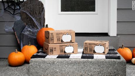 Amazon is shipping new boxes between now and Halloween.