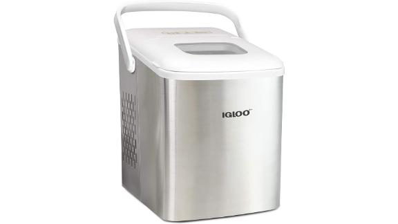 Stainless Steel Automatic Portable Electric Countertop Ice Maker