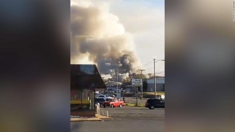 Explosion injures 3 in Harrisonburg, Virginia