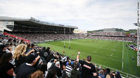 More than 46,000 fans were present to watch New Zealand defeat Australia.