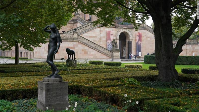 Police investigate attacks on antique artworks on Berlin's Museum Island