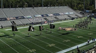 For the first time since 1943, the Army-Navy football game will be played at West Point