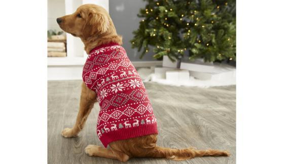 Frisco Reindeer Fair Isle Dog & Cat Christmas Sweater