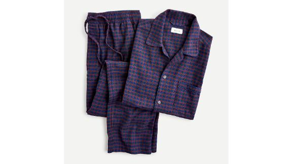 J.Crew Pajama Set in Flannel Check