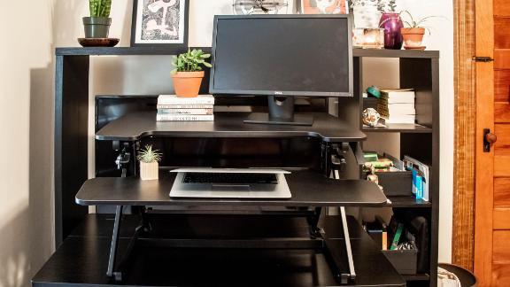 Flexispot Height-Adjustable Standing Desk Converter