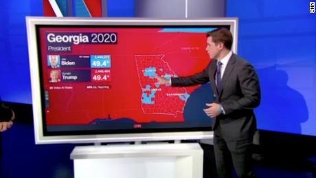 2020 US election: Biden edges ahead of Trump in battleground state of  Georgia - CNN Video