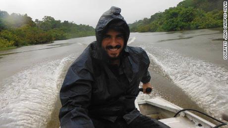 João Campos Silva ริมแม่น้ำในรัฐ Amazonas ประเทศบราซิล