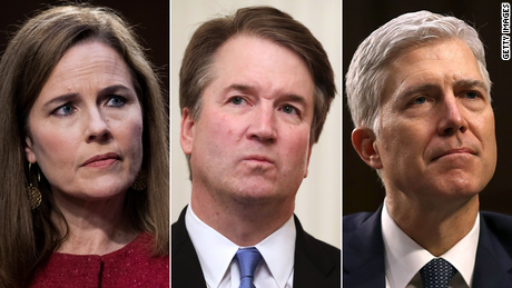 Trump's appointments are turning the Supreme Court to the right with different gimmicks
