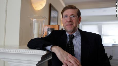 Former FDA Commissioner David Kessler poses at his home in San Francisco on April 20, 2009.