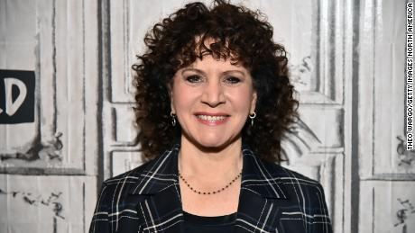 """Susie Essman is shown here on a visit to """"Build"""" at Build Studio on January 21 in New York."""