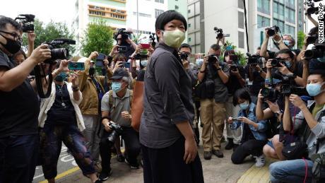 นักข่าวฮ่องกงปรากฏตัวในศาลเนื่องจากความกลัวในการปราบปรามเพิ่มมากขึ้น