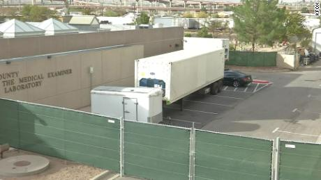 El Paso, Texas, is asking for 4 more mobile morgues as Covid-19 deaths spike