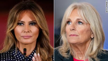 Melania Trump has not contacted Jill Biden