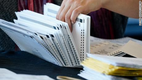 Georgia to conduct full by-hand count of presidential race ballots, secretary of state says