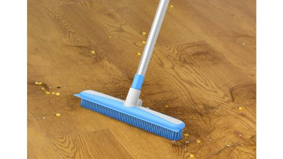 Mr. Siga Soft Bristle Rubber Broom and Squeegee