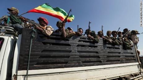 อาชญากรรมสงครามสร้างความหวาดกลัวในความขัดแย้งของทิเกรย์ของเอธิโอเปีย