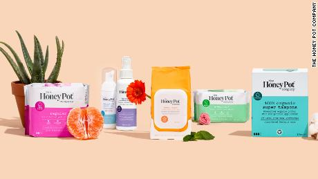 The brand makes plant-derived feminine care products.