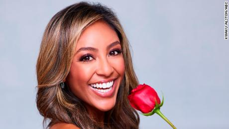 """""""The Bachelorette"""" stars Tayshia Adams, the second woman of color selected to star in the history of the franchise."""