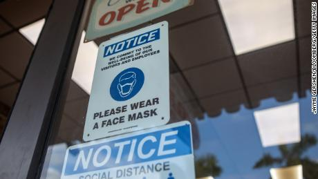 Most states still require face masks to to fight the spread of Covid-19