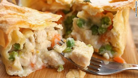 Who can say no to a pot pie? This version is chicken, but you can make yours vegetarian if you'd like.